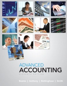 Advanced Accounting 11th ed - Floyd A. Beams, Joseph H. Anthony, Bruce Bettinghaus, Kenneth Smith - 840pd4mb