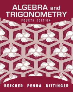 Algebra and Trigonometry 4th ed - Judith A. Beecher, Judith A. Penna, Marvin L. Bittinger - 1120pd15mb