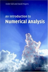 An Introduction to Numerical Analysis - Endre Suli, David F. Mayers - 444pd4mb