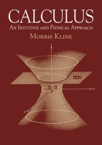 Calculus, An Intuitive and Physical Approach -Morris Kline-960epub39mb