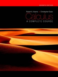Calculus, a Complete Course - 7th ed - Robert A. Adams, Christopher Essex- 1077pd13mb
