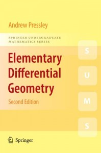 Elementary Differential Geometry 2nd ed-Andrew Pressley-474dj3mb