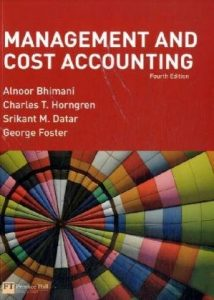 Management and Cost Accounting, 4th Edition - Alnoor Bhimani, Charles T. Horngren, Srikant M. Datar, George Foster - 988pd145mb