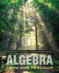 Algebra - William McCallum, Eric Connally