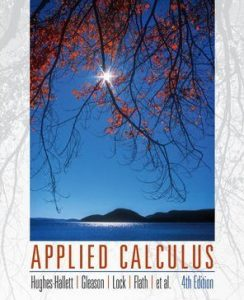 Applied Calculus 4th ed - Deborah Hughes-Hallett, Patti Frazer Lock, Andrew M. Gleason - 562pd7mb