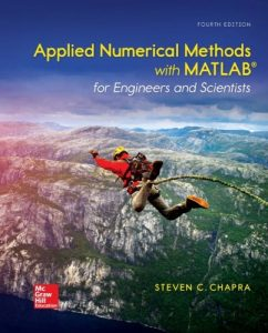 Applied Numerical Methods With MATLAB 4th edition Steven Chapra