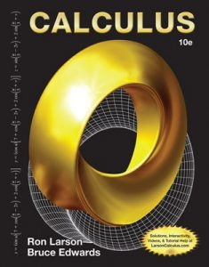 Calculus 10th edition Ron Larson, Bruce Edwards
