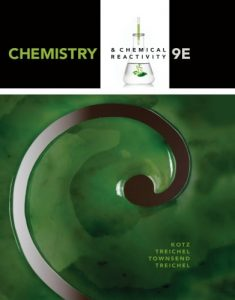Chemistry & Chemical Reactivity 9th Edition John Kotz, Paul Treichel