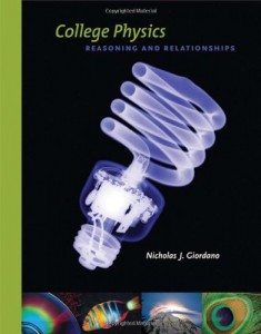 College Physics, Reasoning and Relationships - Nicholas Giordano - 1182pd40mb