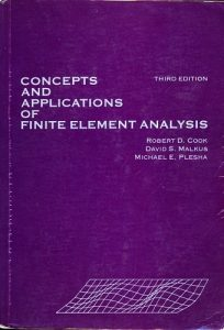 Concepts and Applications of Finite Element Analysis 3rd edition Robert Cook