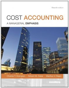 Cost Accounting 15th edition Charles Horngren Srikant Datar