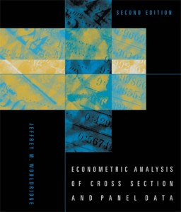 Econometric Analysis of Cross Section and Panel Data, 2nd Ed - Jeffrey M. Wooldridge -1078pd12mb