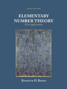 Elementary Number Theory - 5th ed - Kenneth H. Rosen - 766pd36mb