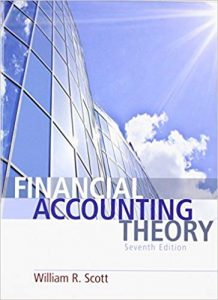 Financial Accounting Theory 7th edition William Scott