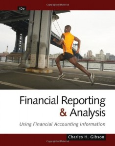 Financial Reporting and Analysis 12th ed-Charles H. Gibson-643pd32mb