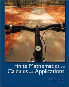 Finite mathematics and calculus with applications 9th ed - Margaret L Lial; Raymond N Greenwell; Nathan P Ritchey - 1141pd26mb