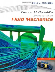 Fox and McDonald's Introduction to Fluid Mechanics 8th ed - Philip J. Pritchard- 899pd25mb