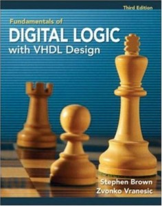 Fundamentals of Digital Logic with VHDL Design 3rd ed - Stephen Brown, Zvonko Vranesic - 961pd12mb