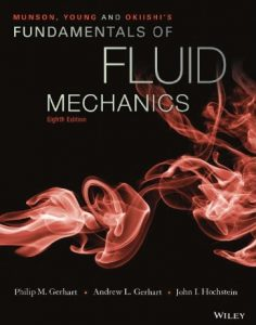 Munson, Young and Okiishi's Fundamentals of Fluid Mechanics 8th Edition