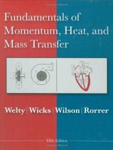 Fundamentals of Momentum, Heat and Mass Transfer-5th ed - James Welty, Charles E. Wicks, Gregory L. Rorrer, Robert E. Wilson-pd711-5mb