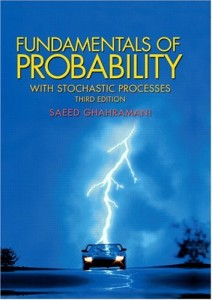 Fundamentals of Probability, with Stochastic Processes 3rd ed - Saeed Ghahramani -644pd4mb