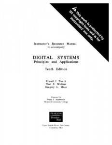 Instructor's Resource Manual to Accompany Digital Systems Principles and Applications 10th ed - Ronald J. Tocci,Neal S.Widmer-212pd9mb