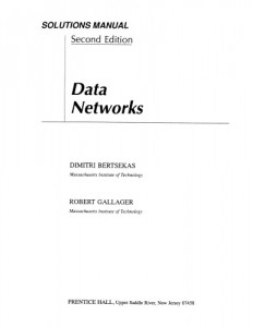 Instructor's Solutions Manual for Data Networks-Dimitri Bertsekas, Robert Gallager-166pd9mb