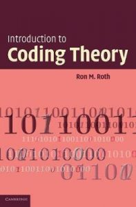 Introduction to Coding Theory Ron Roth