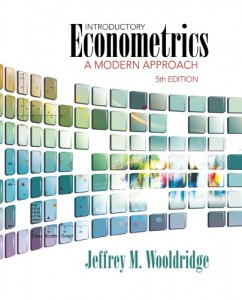 Introductory Econometrics, A Modern Approach 5th ed-Jeffrey M. Wooldridge-910pd9mb