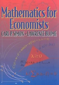 Mathematics for economists - Carl Simon, Lawrence Blume