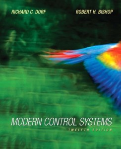 Modern Control Systems 12th ed-Richard C. Dorf, Robert H. Bishop-1104pd32mb