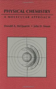 Physical Chemistry, A Molecular Approach - Donald A. McQuarrie, John D. Simon - 1279pd18mb
