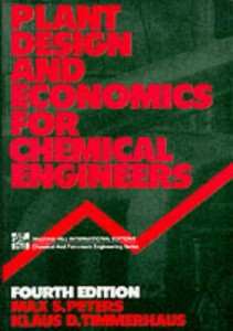 Plant Desing and Economics for Chemical Engineers 4th ed - Max Stone Peters, Klaus D. Timmerhaus - 925pd16mb