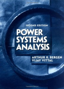 Power Systems Analysis 2n ed - Arthur R. Bergen, Vijay Vittal - 619pd22mb