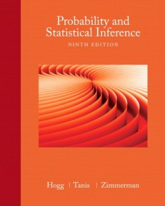 Probability and Statistical Inference 9th ed -Robert V. Hogg, Elliot Tanis, Dale Zimmerman-557pd4mb