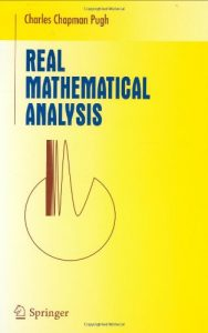 Real Mathematical Analysis - Charles Chapman Pugh
