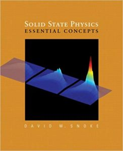 Solid State Physics David Snoke