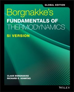Solution Manual for Borgnakke's Fundamentals of Thermodynamics Global Edition SI Version
