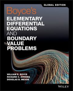 Solution Manual for Boyce's Elementary Differential Equations and Boundary Value Problems 11th Global Edition