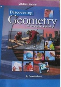 Solution Manual Discovering Geometry 3rd edition Michael Serra