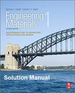 Solution Manual for Engineering Materials 1 - Michael Ashby, David Jones
