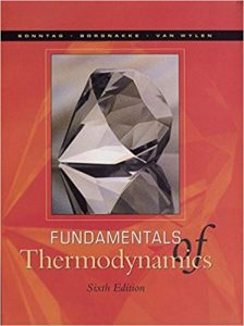 Solution Manual for Fundamentals of Thermodynamics 6th edition Claus Borgnakke, Richard Sonntag