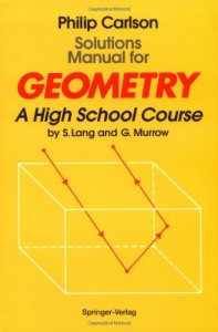Solution Manual for Geometry 2nd ed - Serge Lang, Gene Murrow,Philip Carlson-146pd4mb