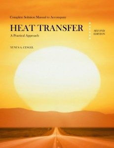 Solution Manual for Heat Transfer, A Practical Approach 2nd ed - Yunus A. Cengel 1300pd8mb