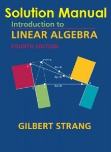 Solution Manual Introduction to Linear Algebra 4th edition Gilbert Strang