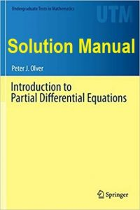Solution Manual Introduction to Partial Differential Equations Peter Olver