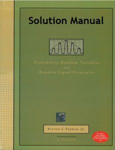 Solution Manual Probability, Random Variables, and Random Signal Principles 4th edition Peyton Peebles