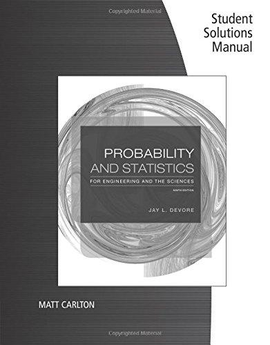 Solution Manual For Probability And Statistics - Jay Devore