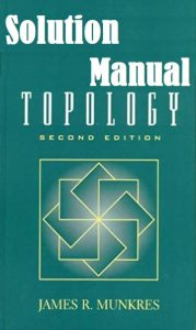 Solution Manual for Topology 2nd Classic edition James Munkres
