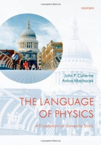 The Language of Physics, A Foundation for University Study-John P. Cullerne, Anton Machacek-208pd1mb